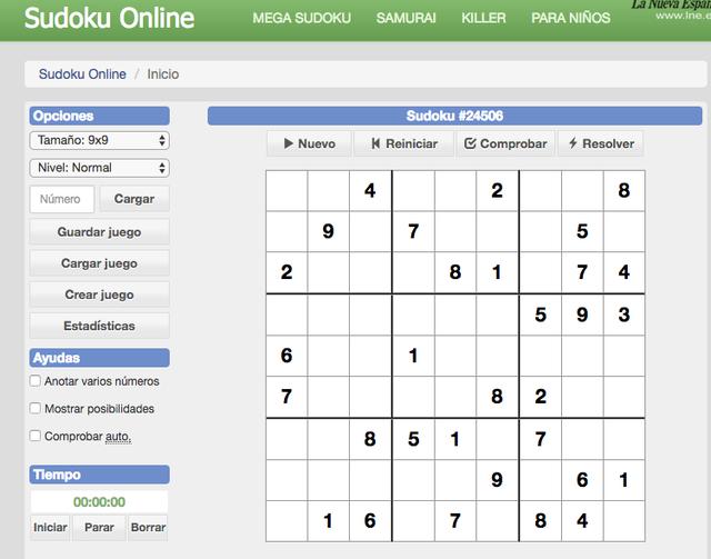 T-Sudoku-online