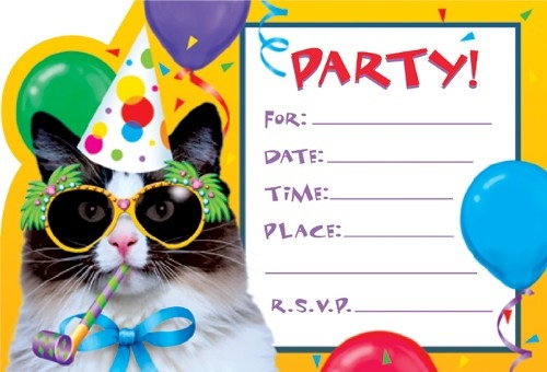 Cat-printable-birthday-party-invitations