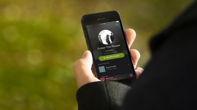 Spotify-iOS-App