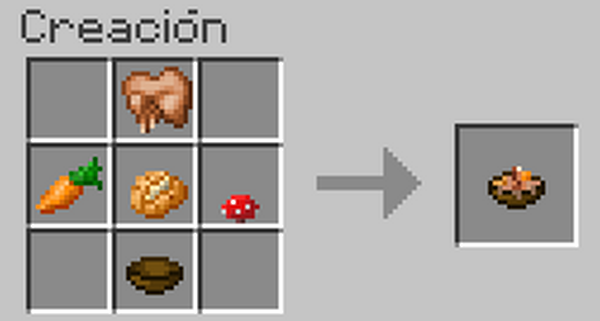 Prepare your food part 2 the minecraft game - Como hacer sopa de setas en minecraft ...