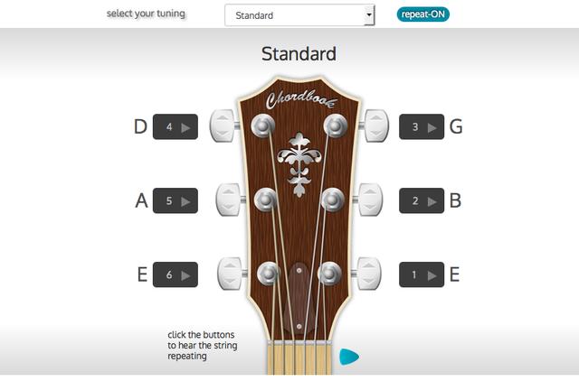 guitar tuner online blogup. Black Bedroom Furniture Sets. Home Design Ideas
