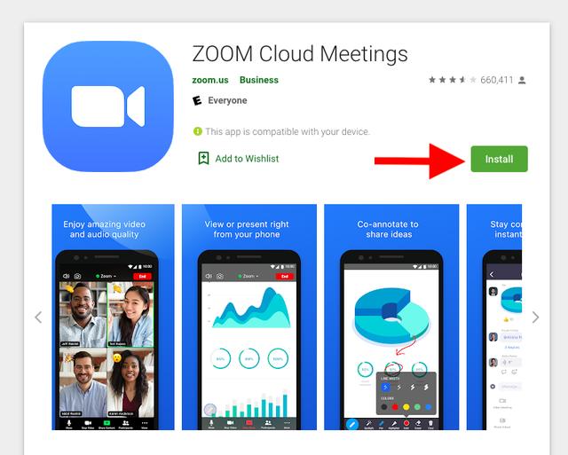 Zoom-play-store