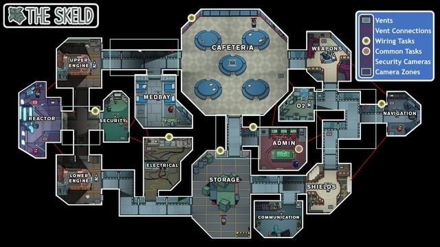 Skeld-map